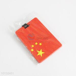 Chinese national flag printed luggage tag