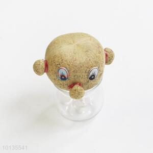 Funny Dolls Magic Grass Doll, Magic Head