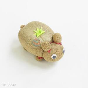 Cartoon Rabbits Shape Magic Grass Doll, Magic Head