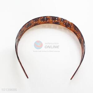 Flower Decorate New Fashion Wide Hair Accessories Hawksbill Hair Clasp