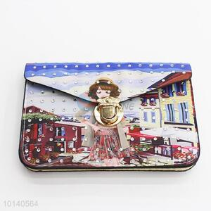 Popular PU cell phone case/cellphone pouch for girl