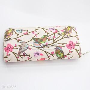 Bird pattern handbag/clutchbag/wallet/purse