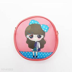 Factory Direct Girl Printed Round Children's bag