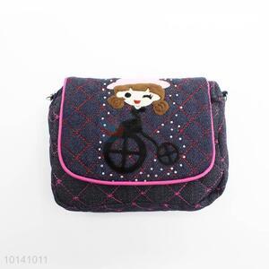 Best Selling Girl Printed Jean Bag for Children