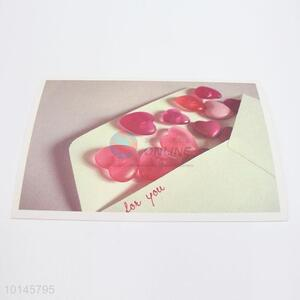 Express love paper postcard for lovers