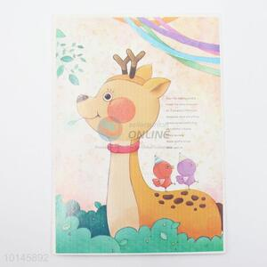 Good quality lovely deer paper postcard
