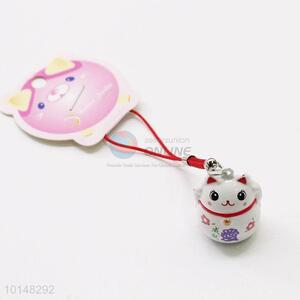 Cat Pendant Bell Mobile Phone Accessories Key Accessories Holiday Gift