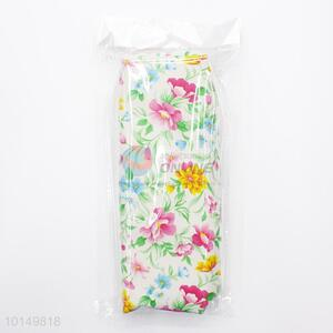 Exquisite flower printed factory price pencil pouch