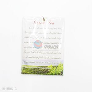 Green tea hanging air freshener scented perfume sachet