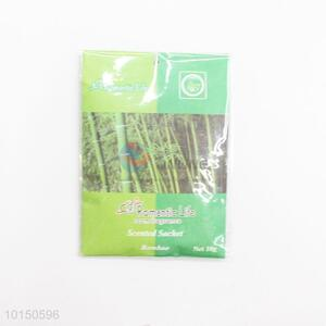 Bamboo home fragrance air freshener sachets