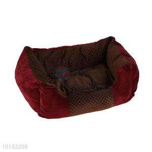 Soft plush dog house/pet kennel