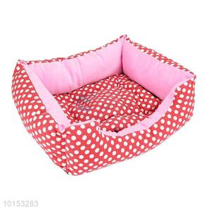 Red dot pet kennel/soft dog house