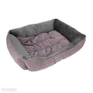Fashion design comfortable plush pet dog/pet kennel
