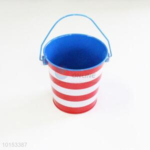 Elegant low price mini storage bucket/mini tinplate bucket