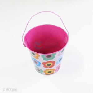 Stylish cheap mini storage bucket/mini tinplate bucket