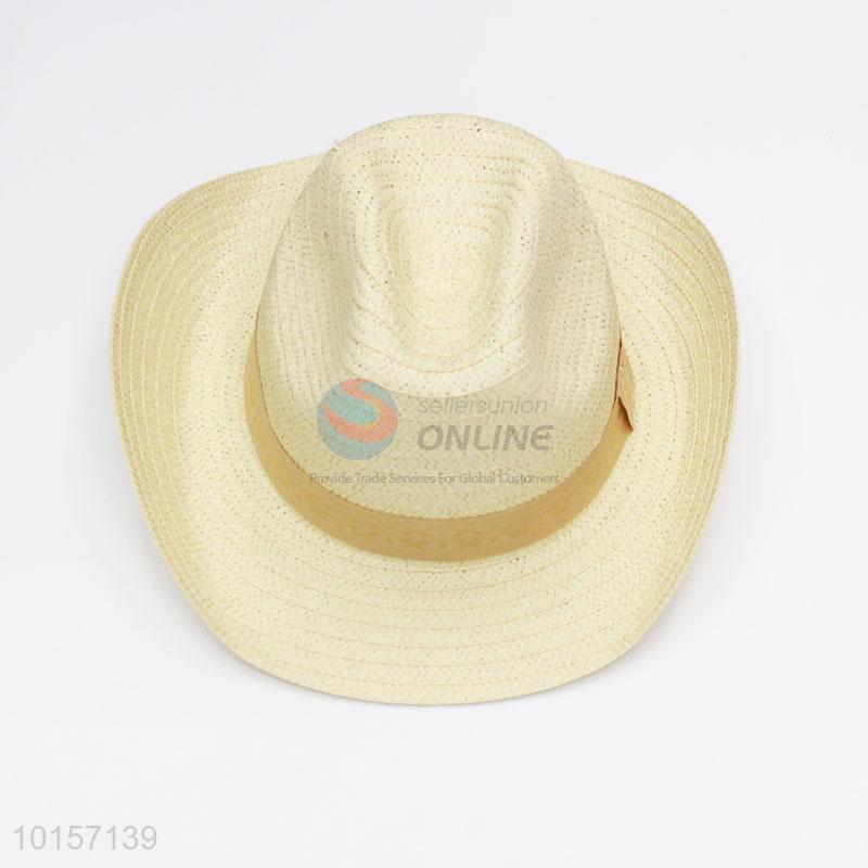 Good quality paper straw hat cowboy hat - Sellersunion Online 60b37b85d4d