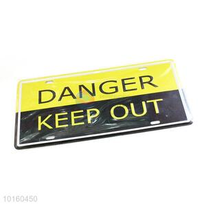 Wholesale Warning Sign Wall Sign Decorative Painting