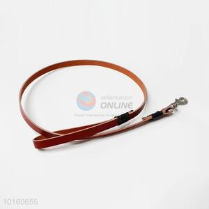Good Quality Leather Pet Collars Luxury PU Leather Plain Pet Dog Puppy Collar