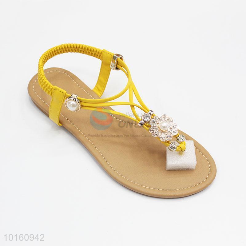 74fbde0dbffaa1 Best Selling Ladies Fancy Flat Sandals - Sellersunion Online
