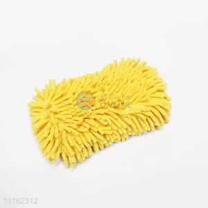 Promotional Wholesale Yellow Chenille Sponge Block