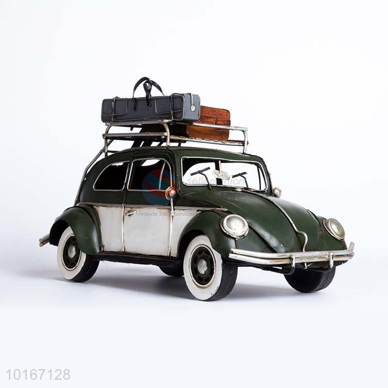 Green Bubble Car Simulation Model Craft For Home Decoration Props