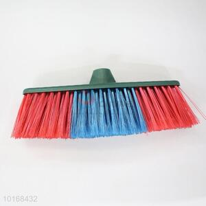 Double Colors Cleaning Sweeping Soft Broom Head Household