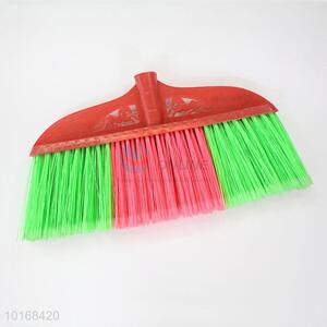 Pink Green Bristle Floor Cleaning Plastic Broom Head