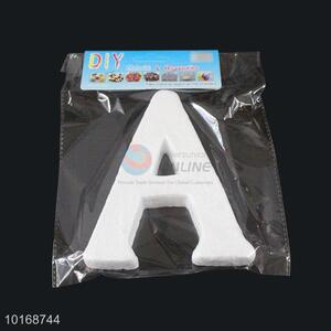 Hot Sale Letter A Shaped Foam Craft for Christmas Decoration