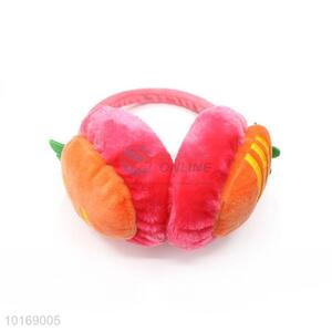 wholesale carrot shape winter warm earmuffs