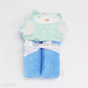 Wholesale cute designed kids bath towel/shawl