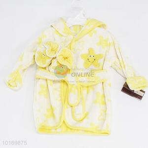Wholesale cheap price children bathrobe&shoes