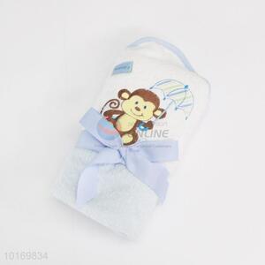 Low price promotional kids bath towel/shawl