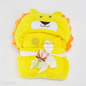 Popular designed cute kids bath towel/shawl