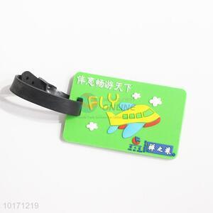 Cool designed silica gel luggage tags/bag tags