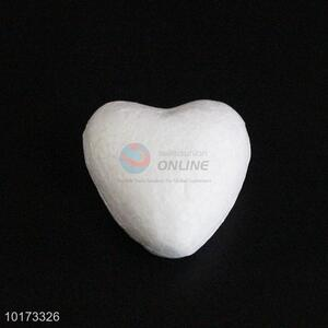 Factory Direct White Foam Craft in Heart Shape Christmas Ornament