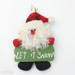 Christmas Party Decoration Santa Claus Pendant Wholesale