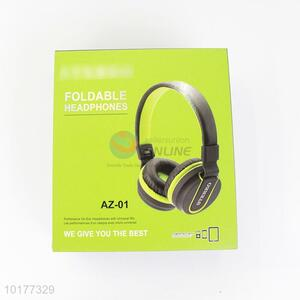 Wholesale wired stereo foldable headphones headset