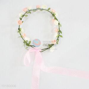 Decorative artificial hawaiian lei,hawaii flower lei