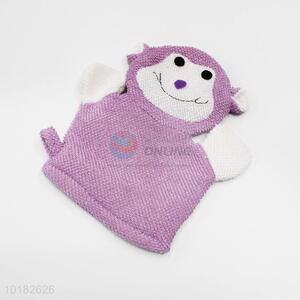 Popular animal baby bath shower glove