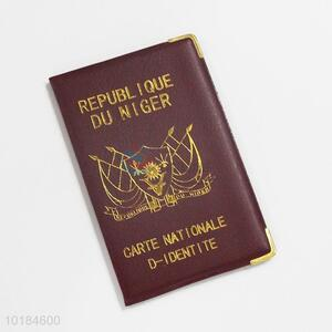 Promotional Imitation Leather Passport Cover