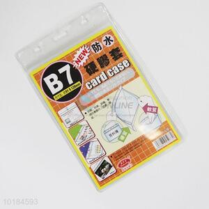 Waterproof Transparent Name Card Carrier Cover Case