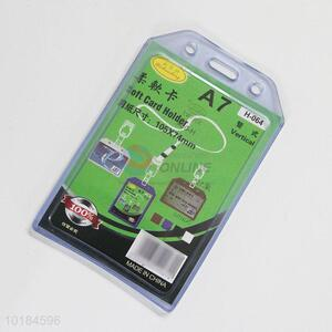 New Waterproof Transparent Name Card Cover Case