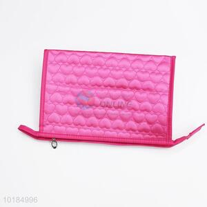Promotional heart embossing <em>cosmetic</em> case makeup case