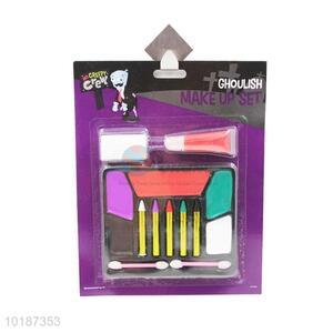 Halloween Make-up Set(5PCS Face Crayon+Lip Gloss)