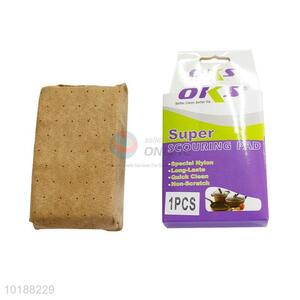 Wholesale faux suede fabric car sponge block