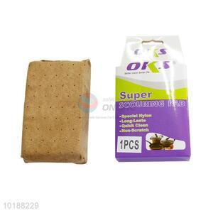 Wholesale faux suede fabric car sponge block