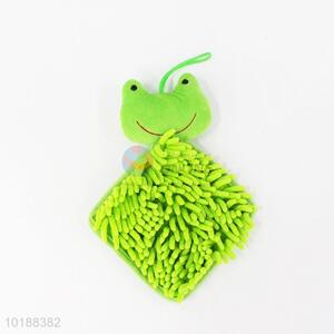 New style green frog cleaning towel
