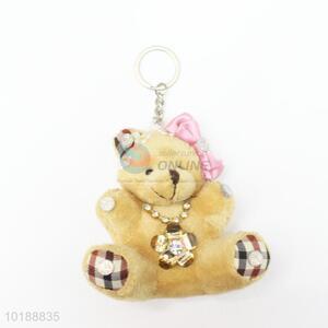 Popular cheap new style bear key chain