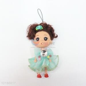 Low price wholesale cheap mini doll key chain