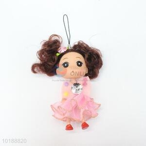 Fancy cheap price mini doll key chain